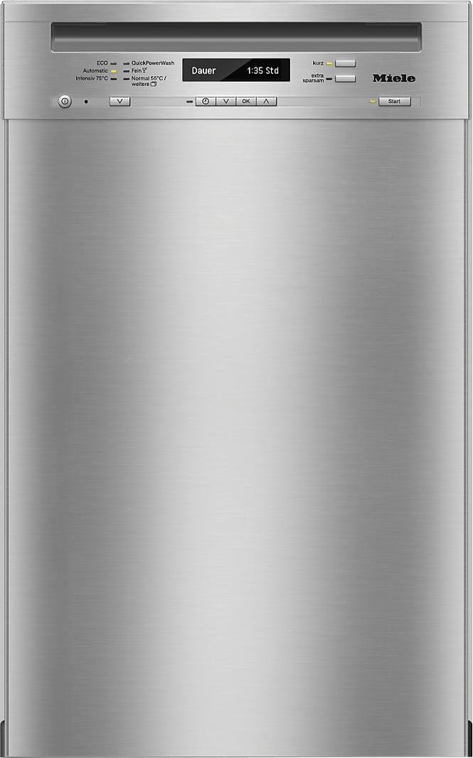 Miele Unterbaugeschirrspüler, G4820SCU, 0,87 l, 9 Maßgedecke, 45 cm breit