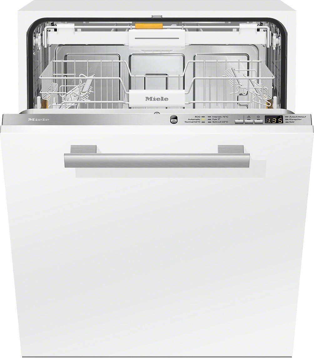 MIELE Vollintegrierbarer Einbaugeschirrspüler G6265SCVIXXL, A+++, 9,7 Liter, 14 Maßgedecke