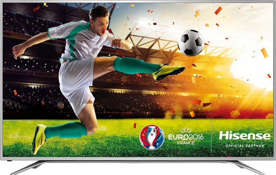 Hisense H65MEC5550, LED Fernseher, 163 cm (65 Zoll), 2160p (4K Ultra HD), Smart-TV in grau