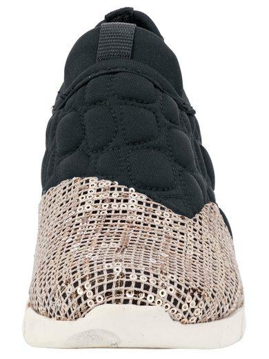 Andrea Conti Sneaker mit Pailletten