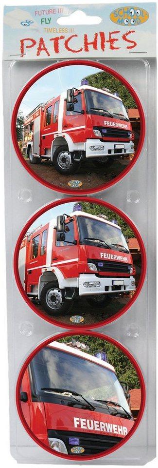 School Mood Zubehör für Schulranzen, »Patchy Feuerwehr«
