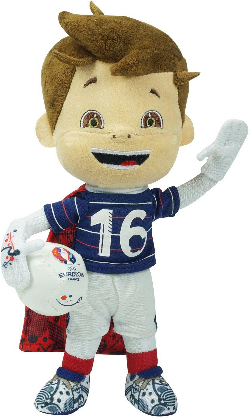 Plüschfigur, 25 cm, »UEFA Euro 2016 in Frankreich - Offizielles Maskottchen«