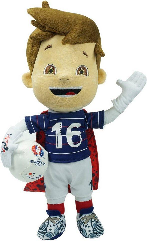 Plüschfigur, 35 cm, »UEFA Euro 2016 in Frankreich - Offizielles Maskottchen«