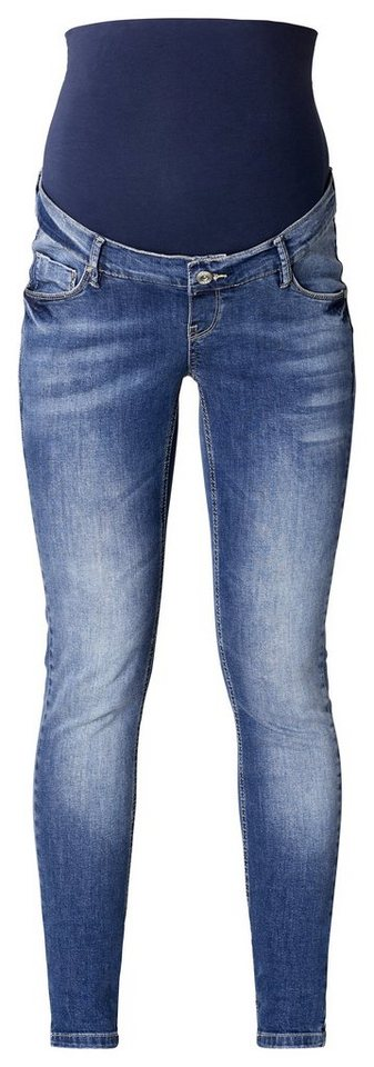 NOPPIES Skinny Umstandsjeans »Tara« in Stone Wash