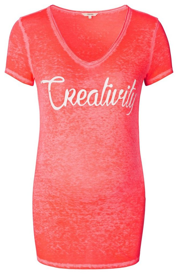 NOPPIES T-shirt »Lulu« in Bright Pink