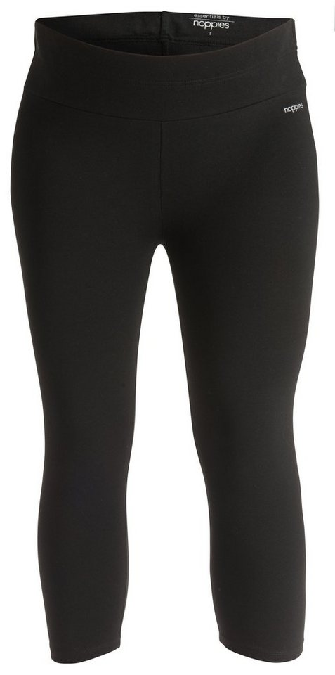 NOPPIES Capri Legging »Amsterdam« in Black