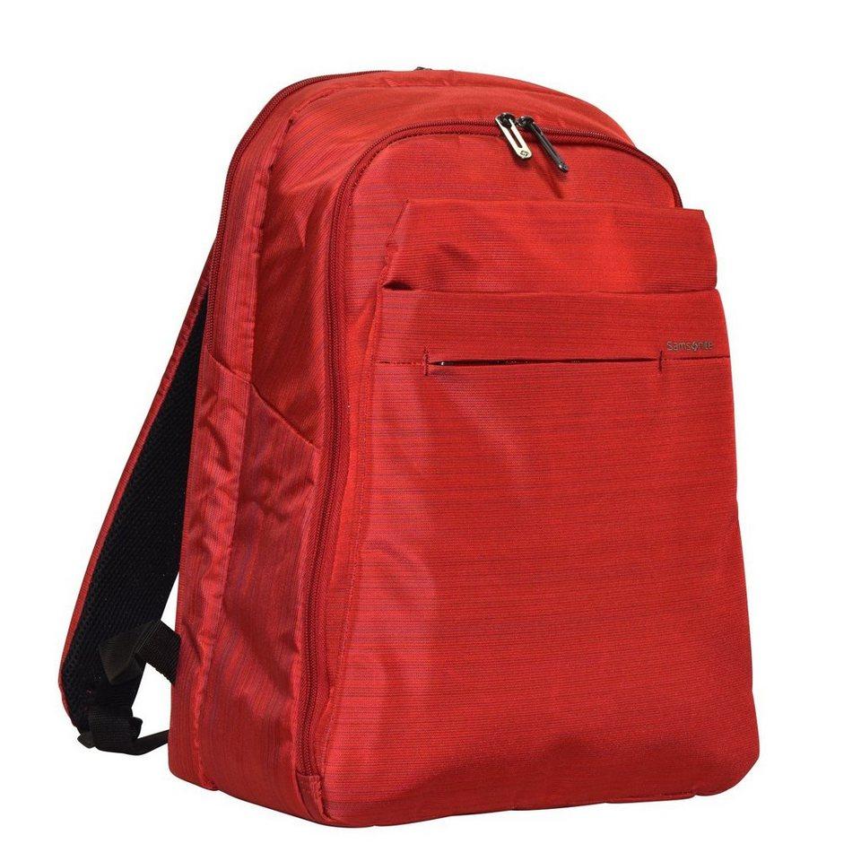 Samsonite Network 2 SP Business Rucksack 42 cm Laptopfach in ruby red