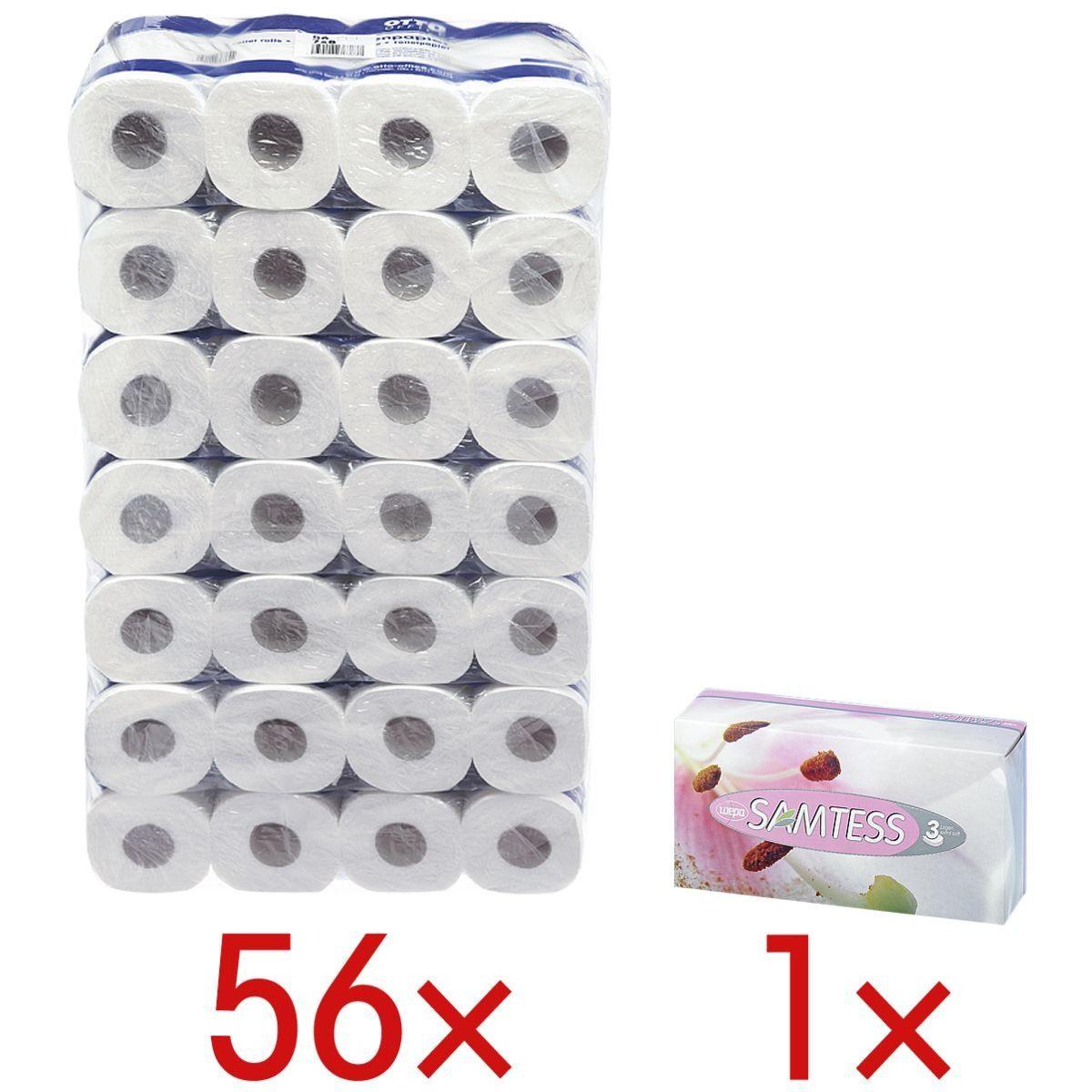 OTTO Office Standard Toilettenpapier inkl. Kosmetiktücher 1 Set