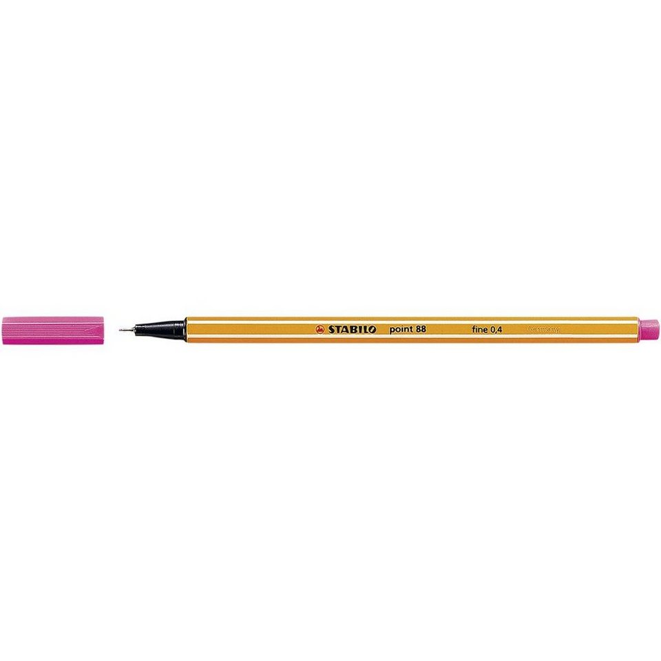 Stabilo Fineliner »point 88« in pink
