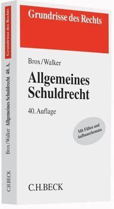 Broschiertes Buch »Allgemeines Schuldrecht«