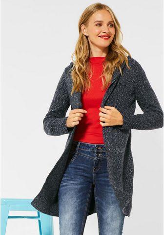 STREET ONE Ilgas megztinis su Rippstrickdetails