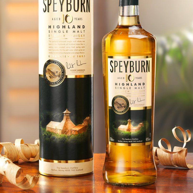 Schrader Whisky Speyburn Single Malt 10 Jahre 0.7 l