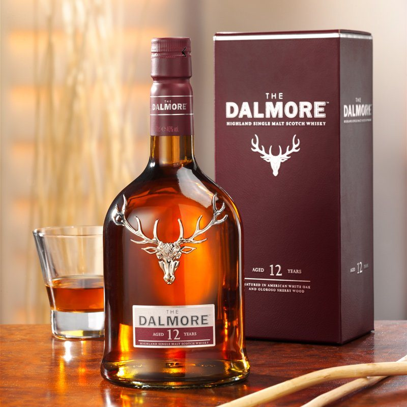 Schrader Whisky The Dalmore 12 Jahre 0.7 l