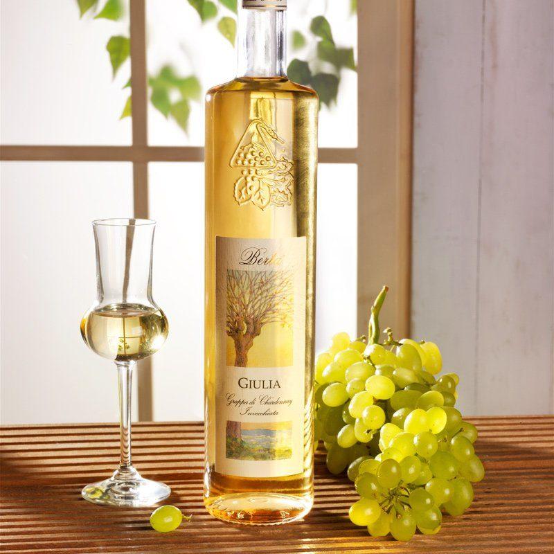 Schrader Giulia Grappa di Chardonnay