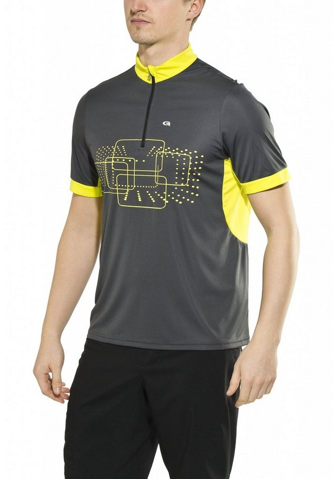 Gonso Radtrikot »Kalvin Bike Shirt Herren« in grau