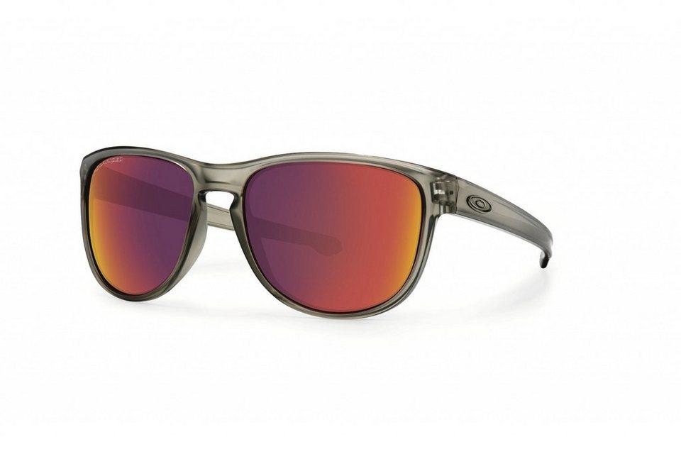 Oakley Radsportbrille »Sliver R« in grau