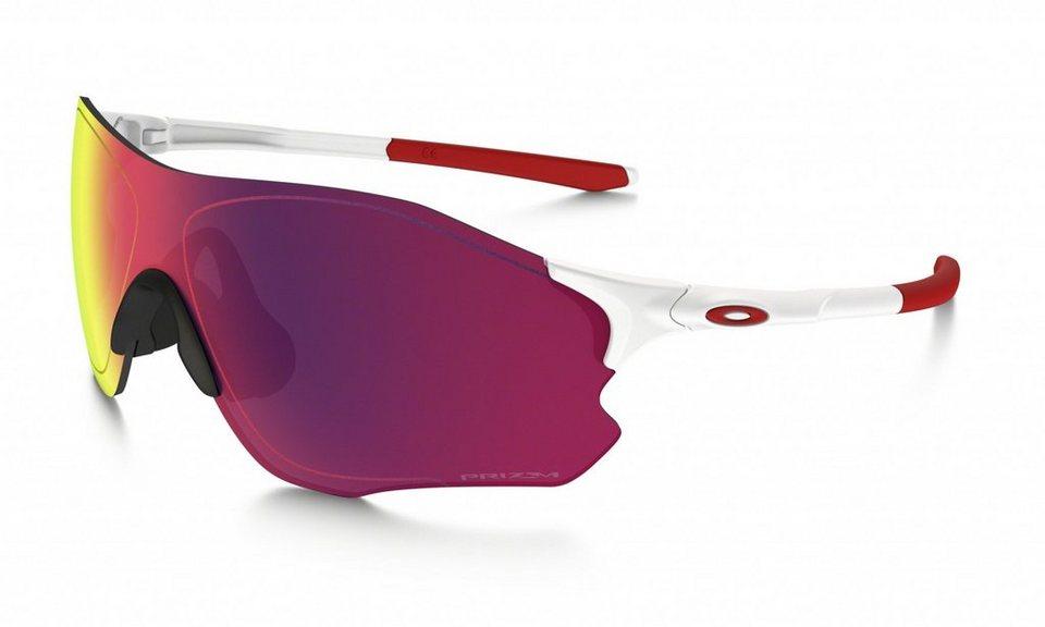 Oakley Radsportbrille »Evzero Path« in weiß