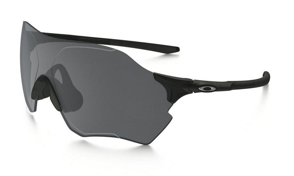 Oakley Radsportbrille »Evzero Range« in schwarz