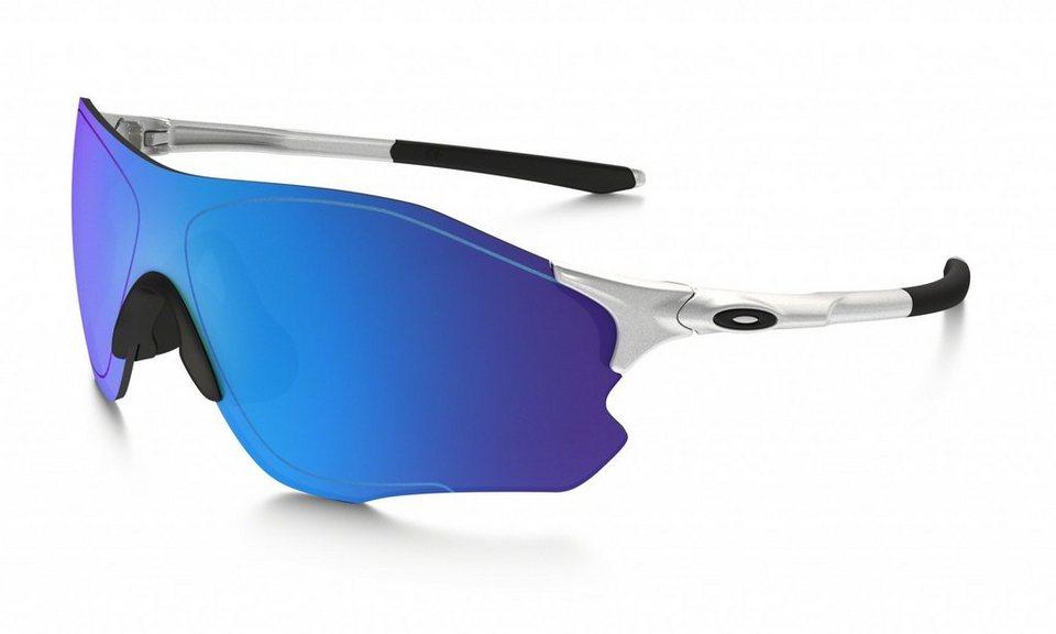 Oakley Radsportbrille »Evzero Path« in silber