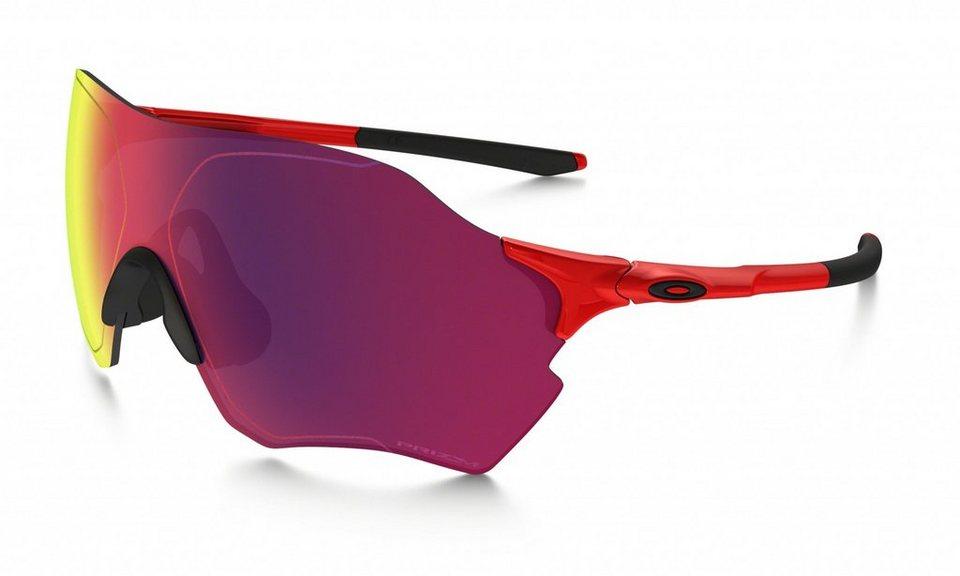 Oakley Radsportbrille »Evzero Range« in rot