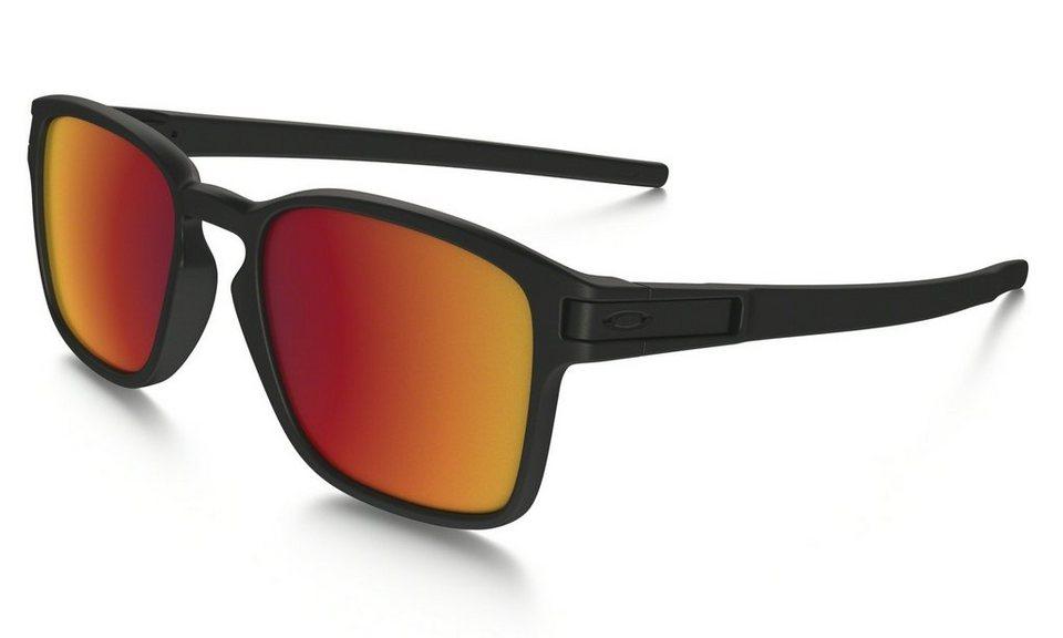 Oakley Radsportbrille »Latch Squared« in schwarz