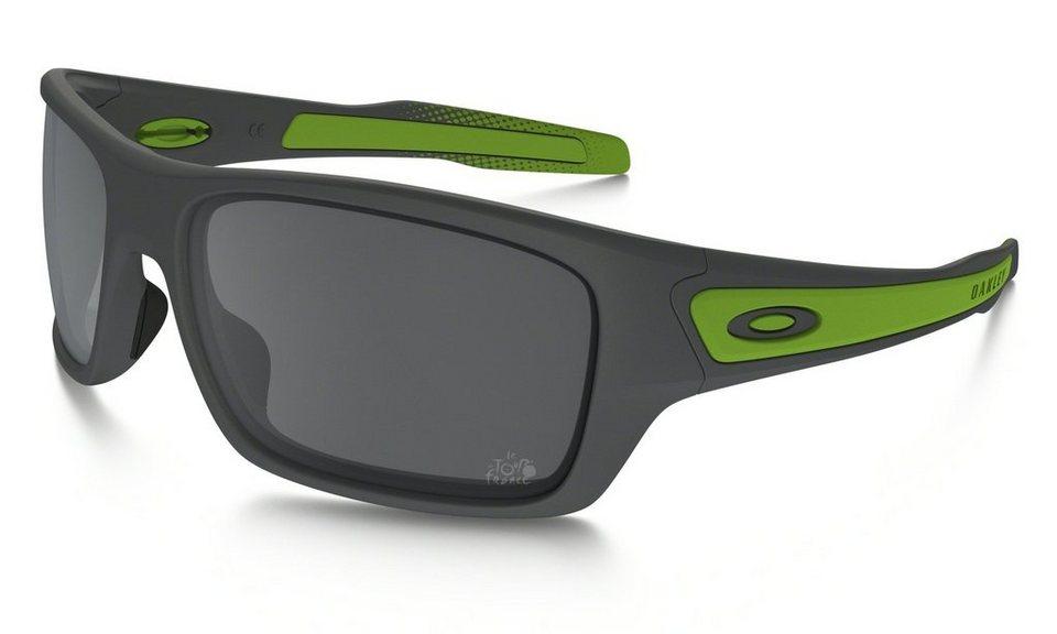 Oakley Radsportbrille »Turbine« in schwarz