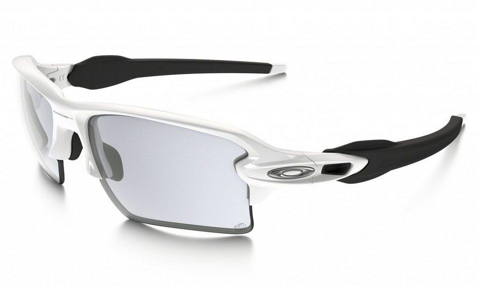 Oakley Radsportbrille »Flak 2.0 XL« in weiß