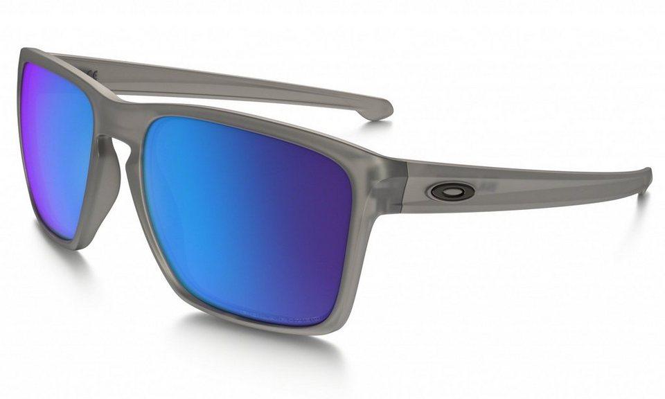Oakley Radsportbrille »Sliver XL« in grau