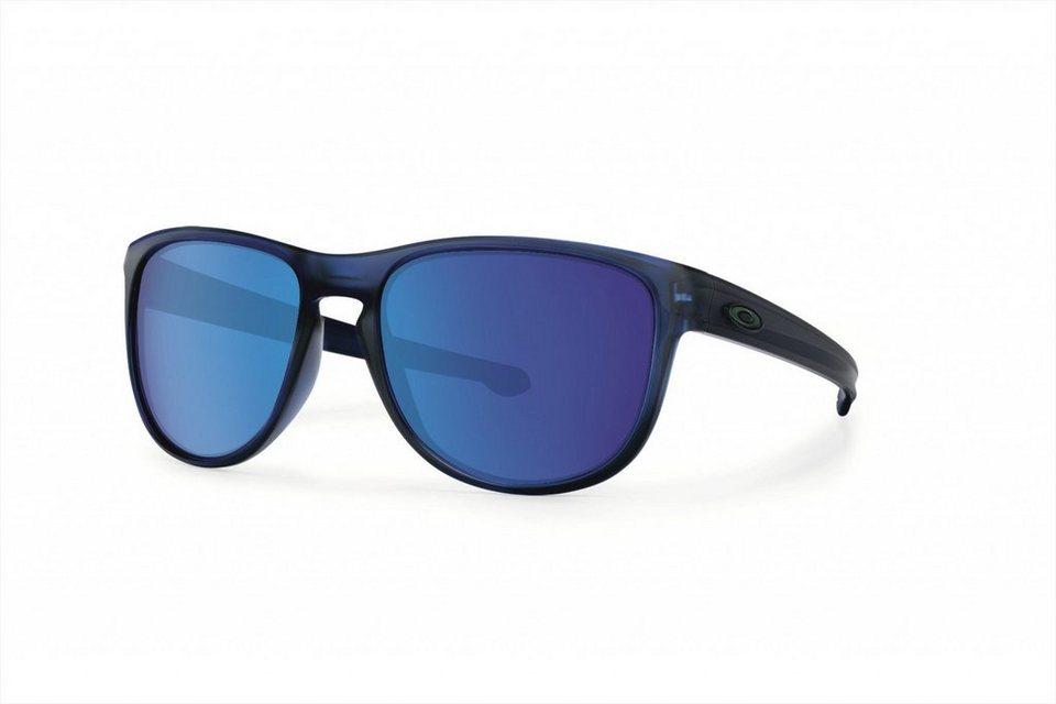 Oakley Radsportbrille »Sliver R« in blau