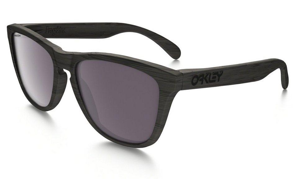 Oakley Radsportbrille »Frogskins« in schwarz
