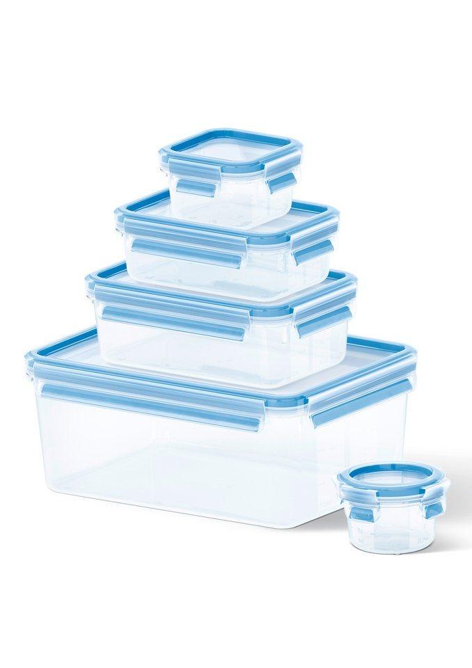 Emsa Frischhaltedosen/Gefrierdosen, »CLIP & CLOSE« in blau