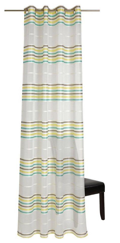 Gardine, deko trends, »Multi« (1 Stück) in creme/gelb