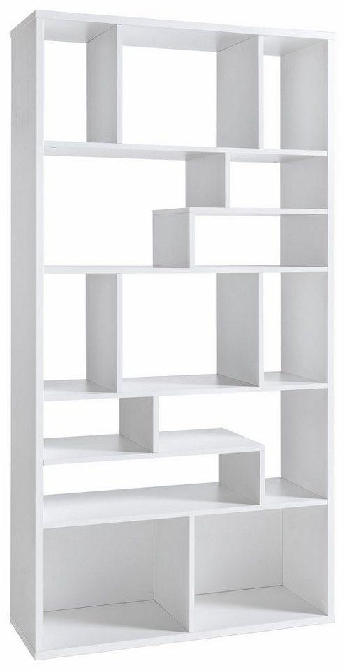 Regal »Kiba« in weiß/weiß
