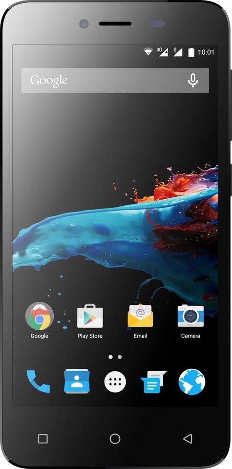 Phicomm Energy 2 Smartphone, 12,7 cm (5 Zoll) Display, LTE (4G), 8,0 Megapixel in schwarz