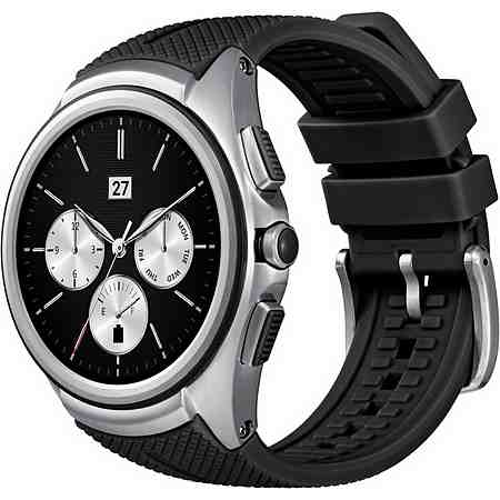 LG Urbane (2nd Edition) Smartwatch, Android Marschmallow (6.0.1), 3,5 cm (1,38 Zoll) P-OLED- Display