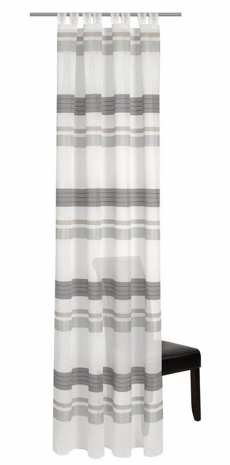Vorhang, deko trends, »Mabella« (1 Stück) in wollweiss/grau