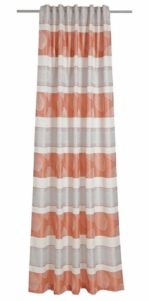 Vorhang, deko trends, »Barbados« (1 Stück) in orange/wollweiss