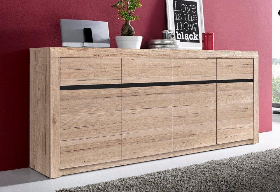 sideboard breite 214 cm online kaufen otto. Black Bedroom Furniture Sets. Home Design Ideas