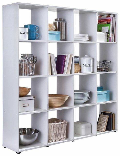 Küchenregale - Wilmes Raumteilerregal »Kaba«, mit 16 Fächern  - Onlineshop OTTO