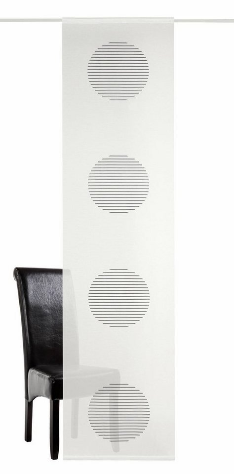 schiebevorhang deko trends spring mit klettband 1. Black Bedroom Furniture Sets. Home Design Ideas