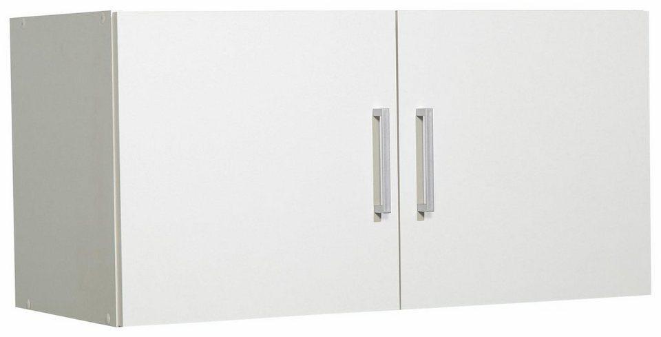 Aufsatz-/Hängeschrank »Ems«, Breite 80 cm in weiß/weiß