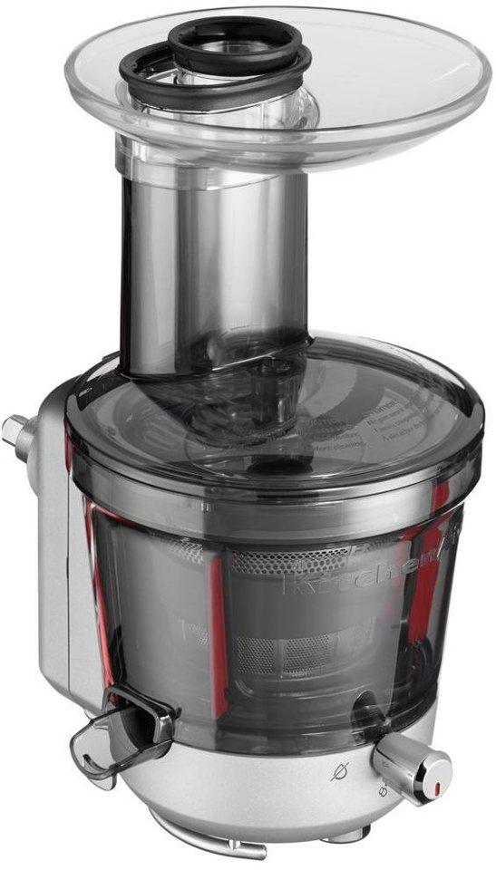 KitchenAid® Entsafter-/Soßenzubehör 5KSM1JA, für fast alle KitchenAid-Küchenmaschinen in silber