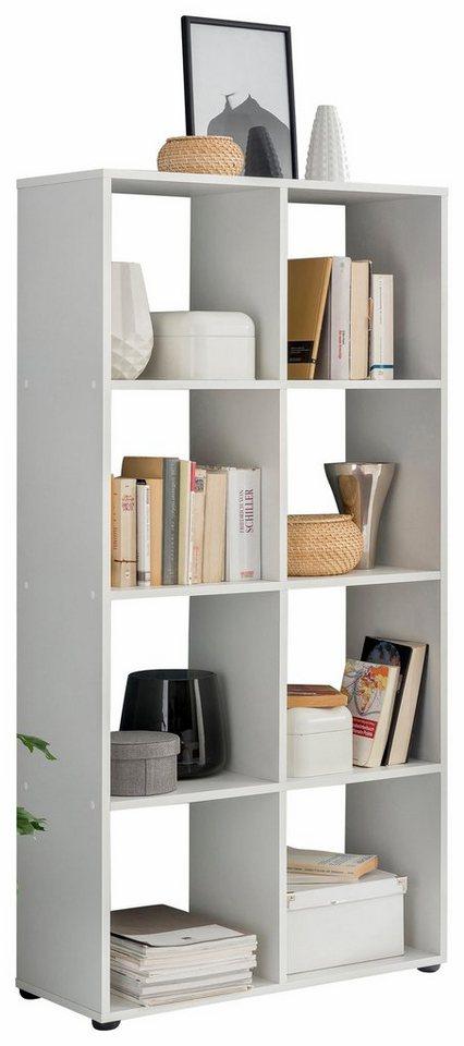 regal kaba 70 cm breite mit 8 offenen f chern otto. Black Bedroom Furniture Sets. Home Design Ideas