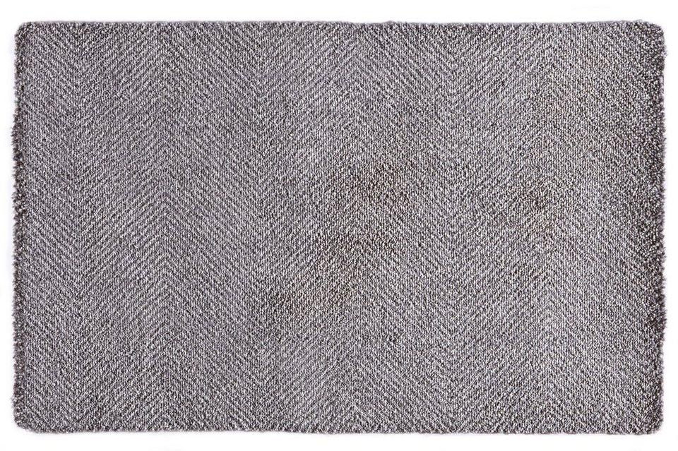 Fußmatte »Clean & Go«, Hanse Home, rechteckig, Höhe 7 mm in grau