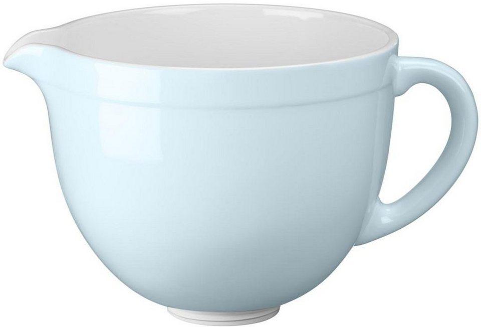 KitchenAid® 4,8-L-Keramikschüssel 5KSMCB5GB, NUR für KitchenAid mit kippbarem Motorkopf in gletscherblau