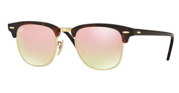 ray ban sonnenbrille clubmaster braun