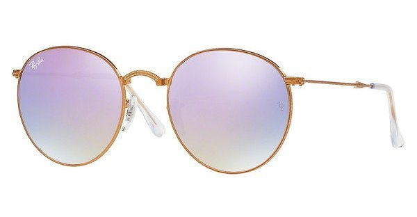RAY-BAN Sonnenbrille » RB3532« in 198/7X - braun/lila