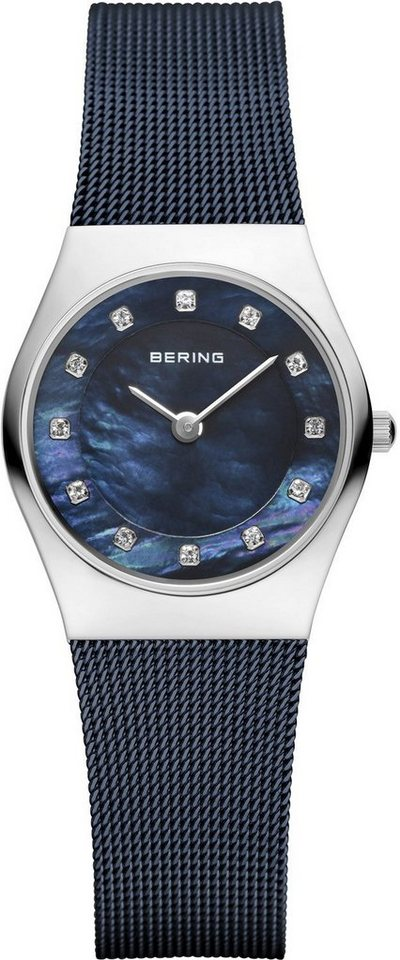 Bering Quarzuhr »11927-307« in blau
