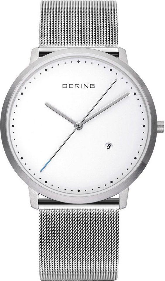 Bering Quarzuhr »11139-004« in silberfarben