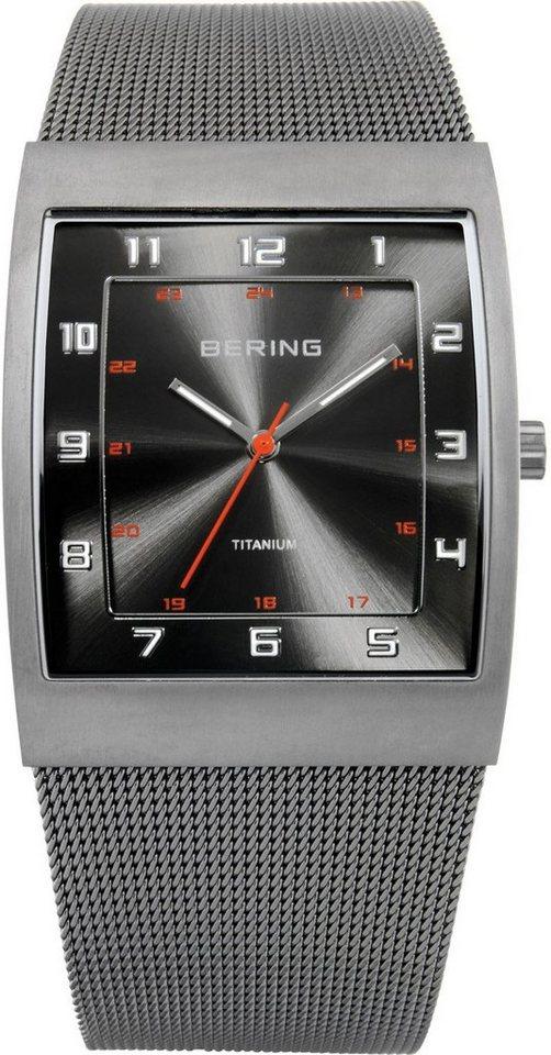 Bering Titanuhr »11233-077« in grau
